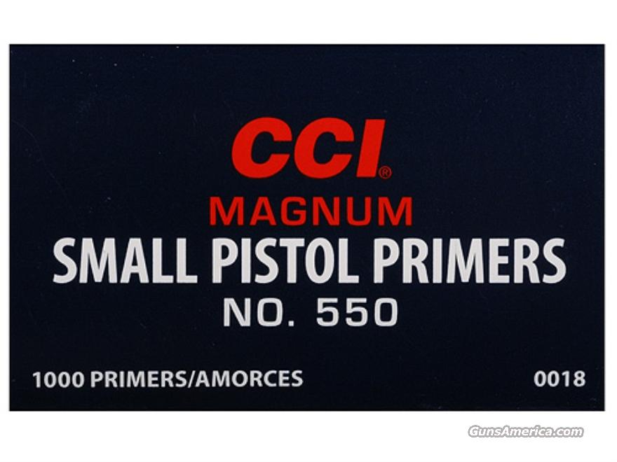 CCI Small Pistol Primers #550  Non-Guns > Reloading > Components > Other