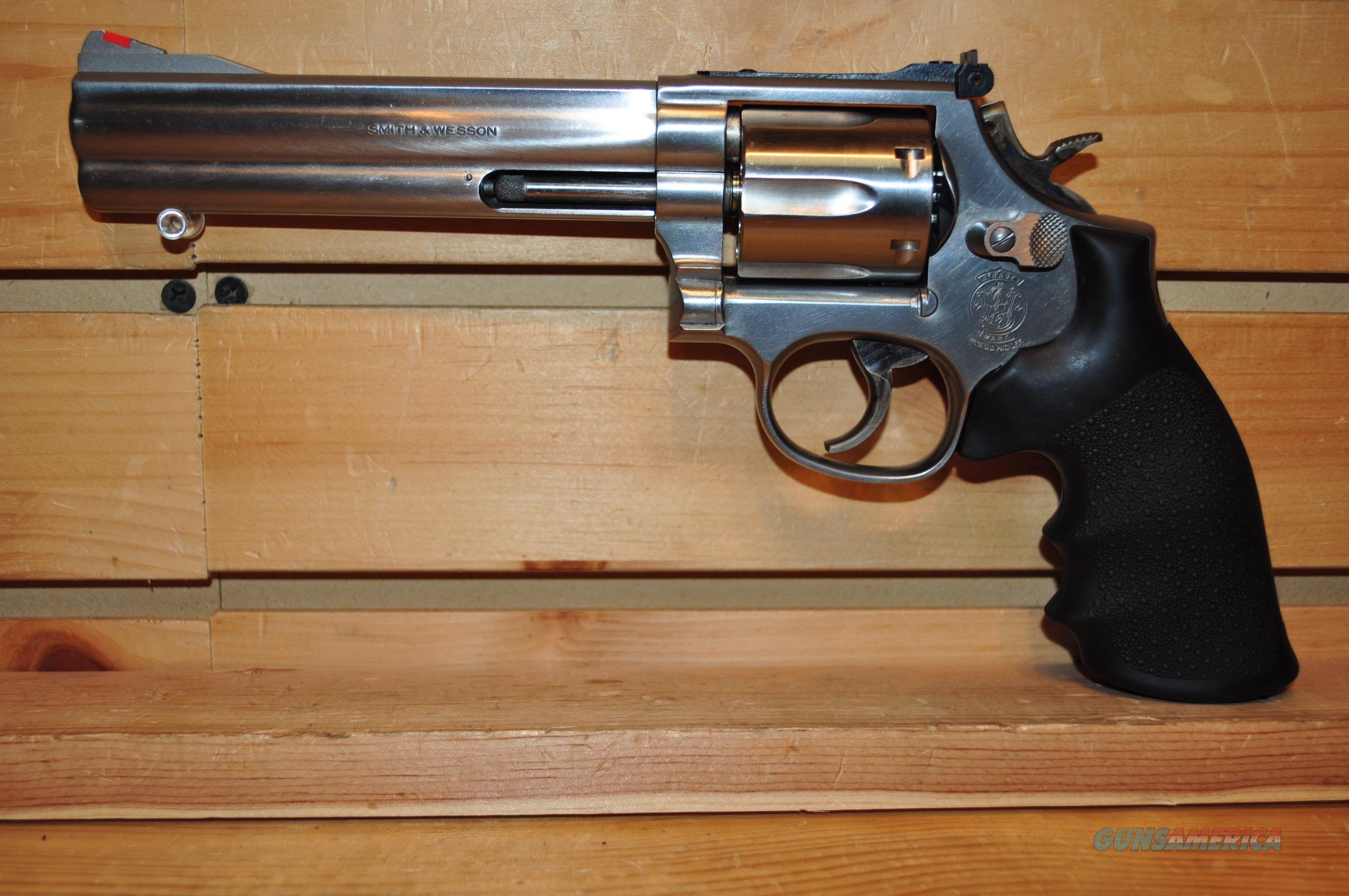 "Smith and Wesson 686 6"" with Box and Papers  Guns > Pistols > Smith & Wesson Revolvers > Full Frame Revolver"