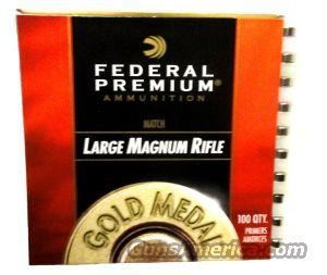 Federal GM215M Gold Medal Large Rifle Primers (case of 5000)  Non-Guns > Reloading > Components > Other