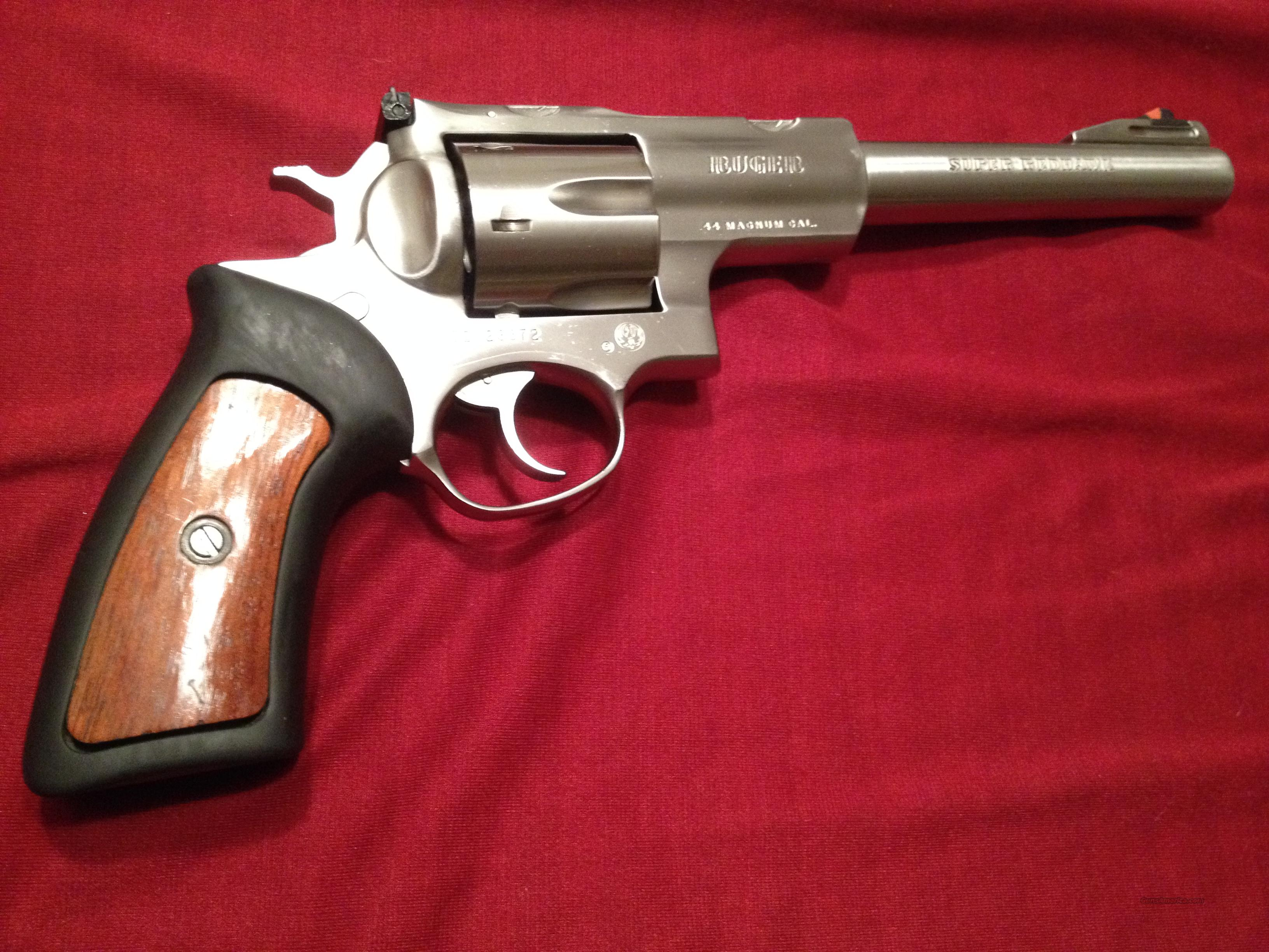 44 MAG Ruger Super Red Hawk - Like New - San Diego, CA - will ship  Guns > Pistols > Ruger Double Action Revolver > Redhawk Type