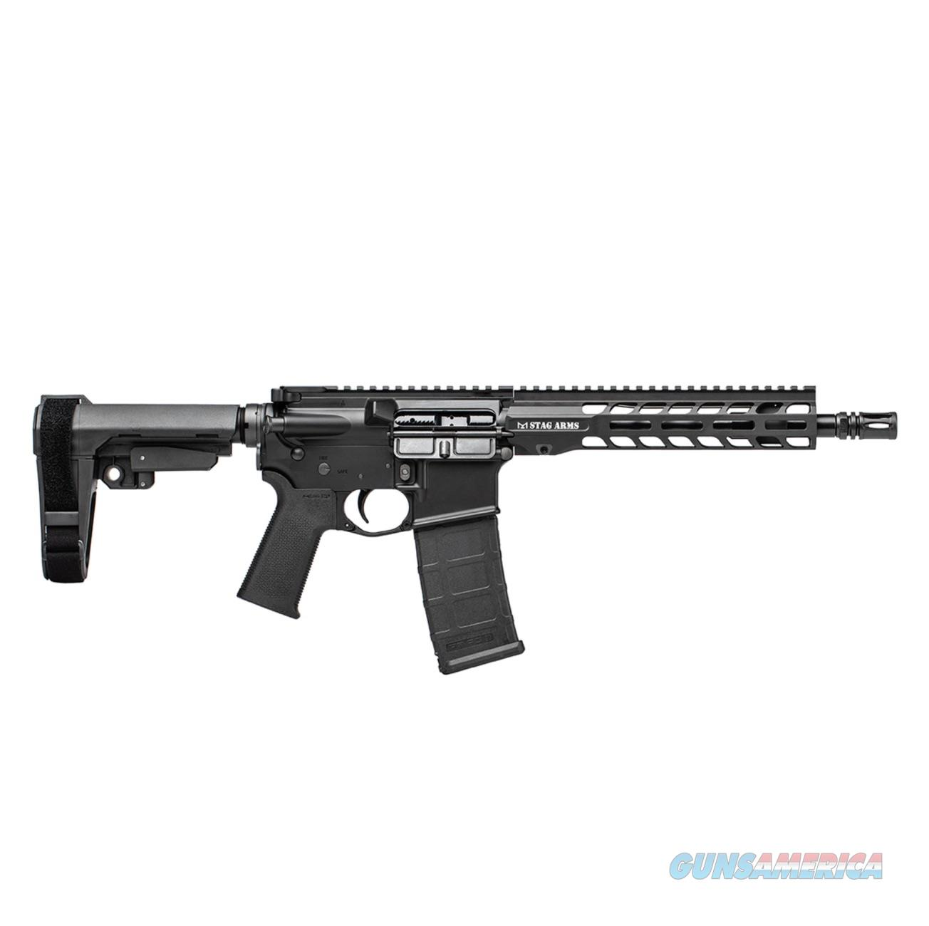"""STAG 15 TACTICAL PISTOL 5.56MM 10.5"""" 30RD M-LOK BLACK NITRIDE  Guns > Rifles > Stag Arms > Complete Rifles"""
