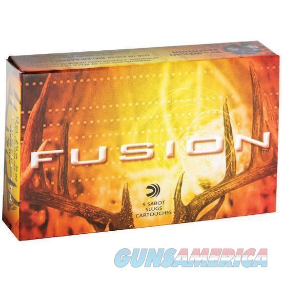 "12 Gauge Federal Fusion 3"" Sabot Slug Lead 7/8 Ounce 1700 fps 5 Round Box   Non-Guns > Ammunition"