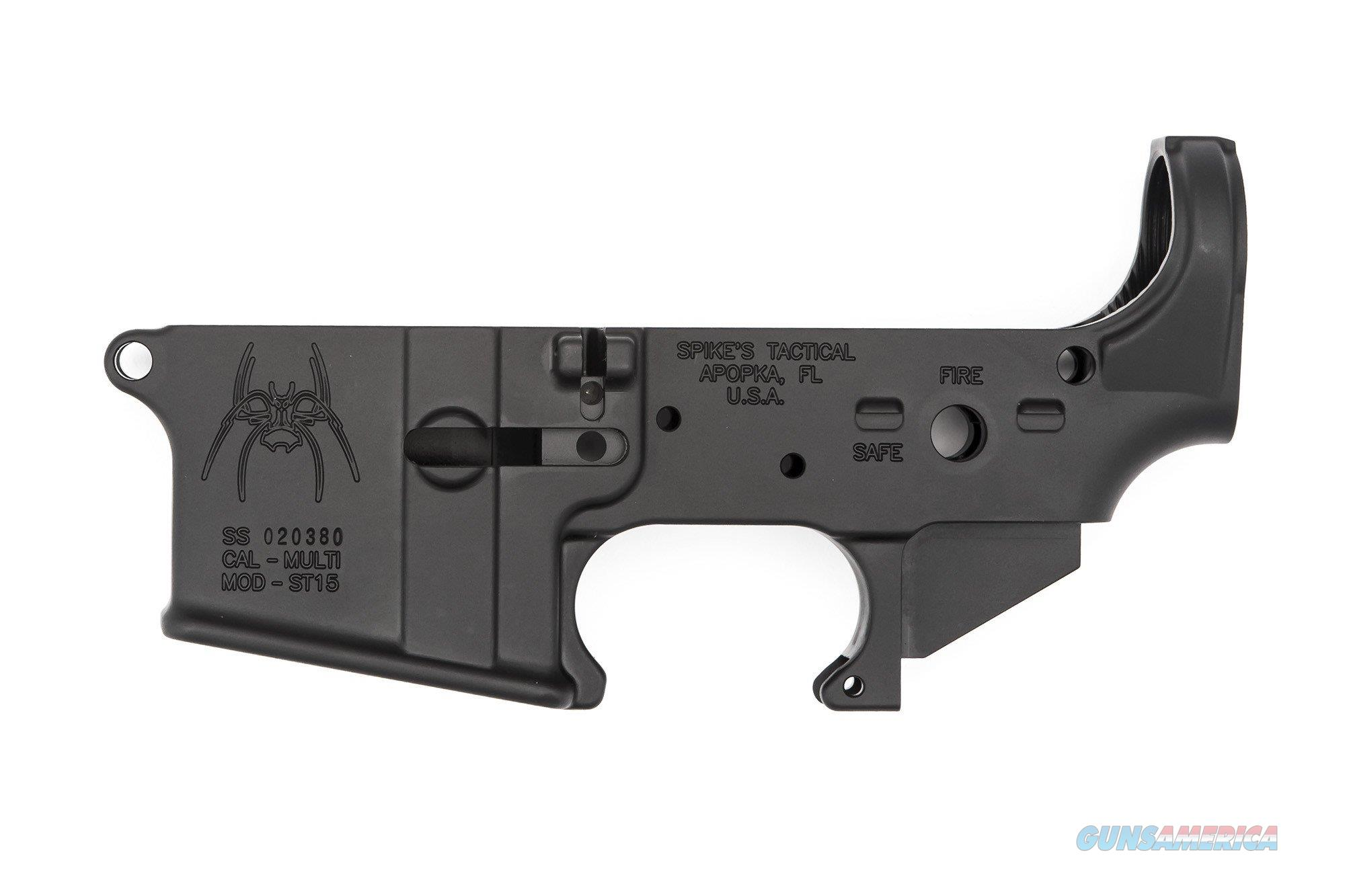Spike's Tactical Spider Stripped Lower Receiver (Fire/Safe)  Guns > Pistols > Spikes Tactical Pistols