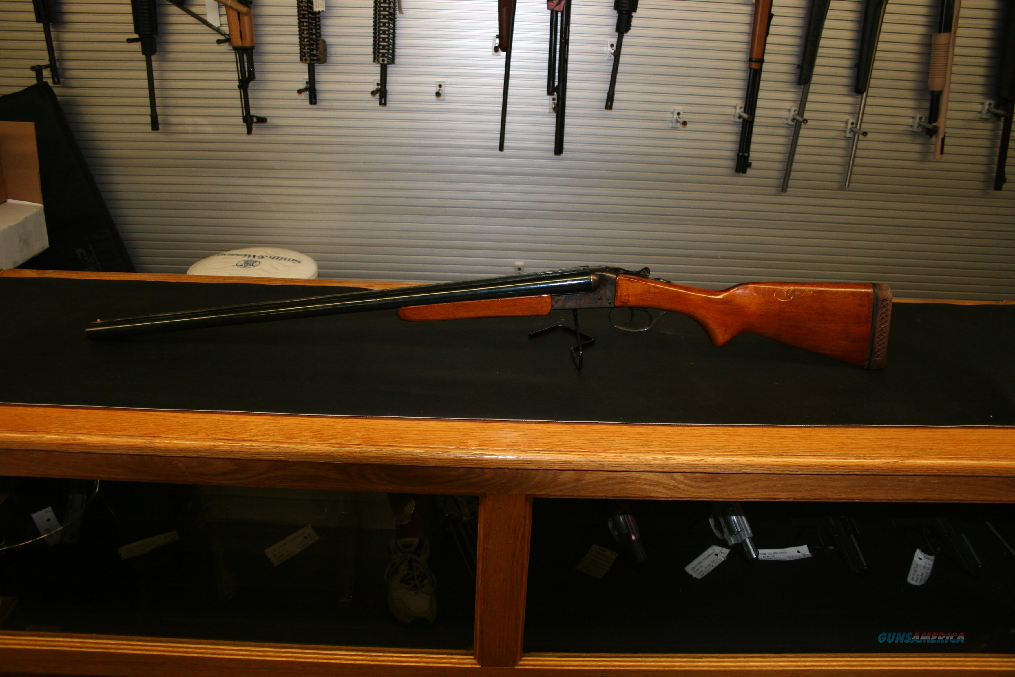Savage-Springfield Model 511 12 Gauge SxS Shotgun  Guns > Shotguns > Savage Shotguns