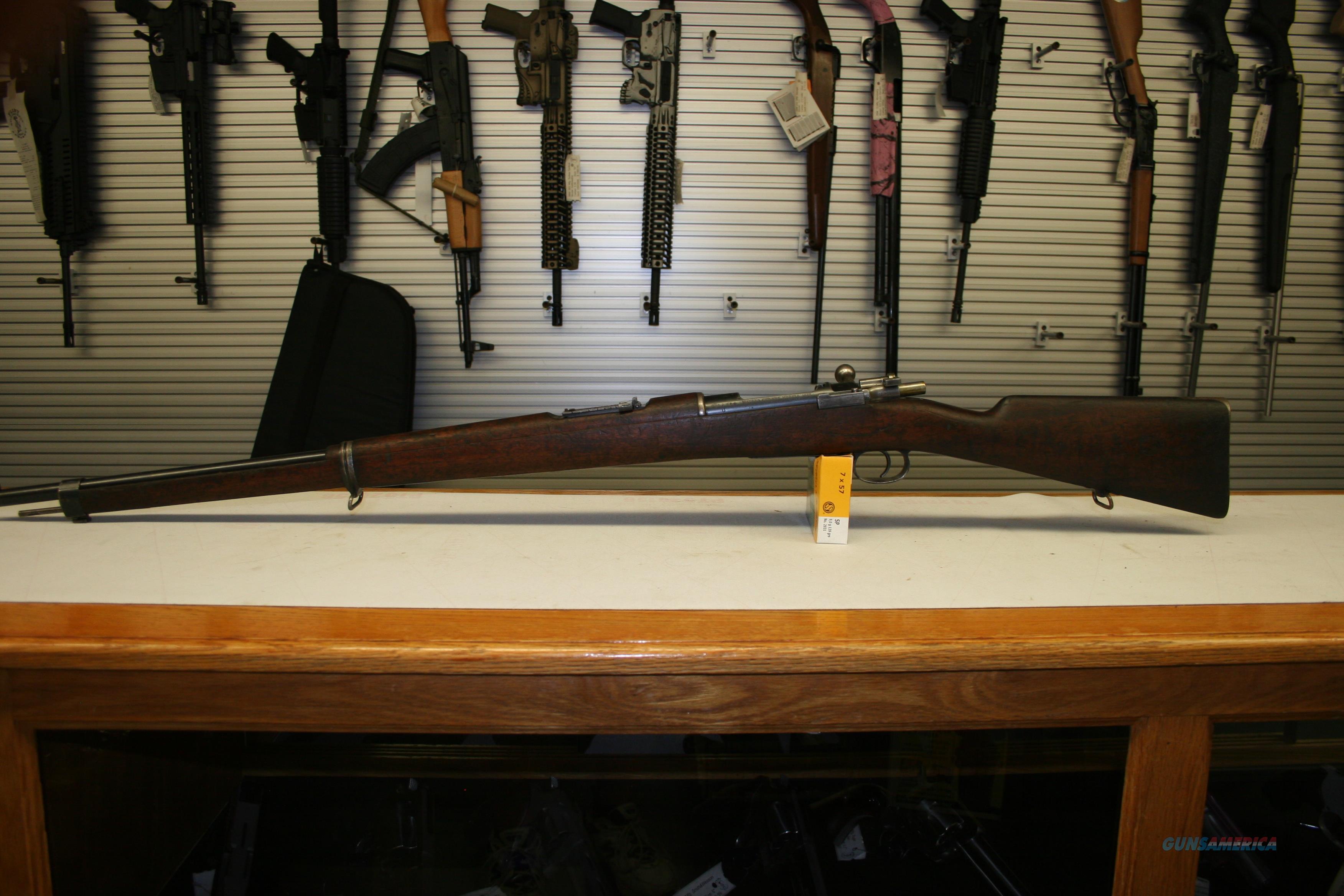 Chilean Mauser MODEL 1895 (LOEWE Berlin) Bolt Action Rifle ~ 7x57mm Mauser  Guns > Rifles > Mauser Rifles > German