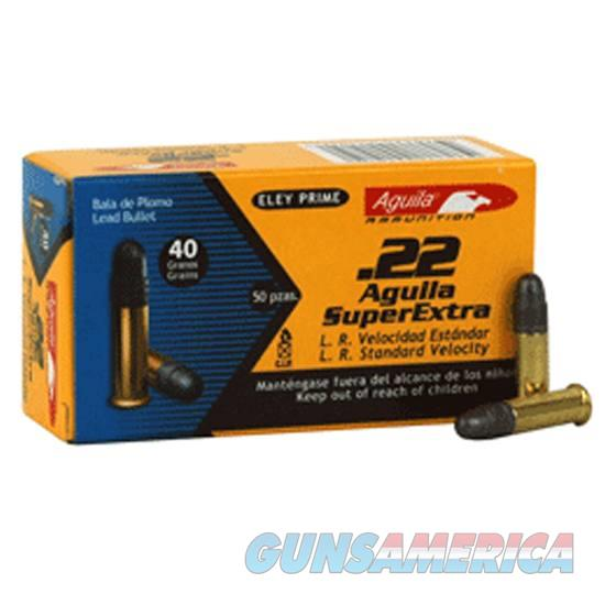 .22 LR Aguila Super Extra 40 Grain RN 1080 fps 50 Round Box  Non-Guns > Ammunition