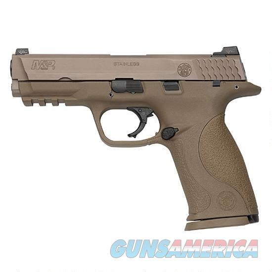 "S&W Model M&P9 VTAC Viking Tactics Semi Auto Handgun 9mm Luger 4.25"" Barrel 17 Rounds VTAC Warrior Sights Polymer Frame Flat Dark Earth Finish   Guns > Pistols > Smith & Wesson Pistols - Autos > Polymer Frame"