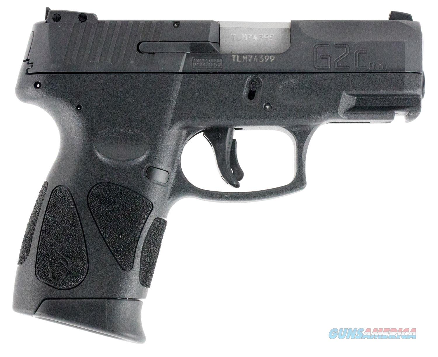"Taurus 1G2C93112 111 G2C Single/Double 9mm Luger 3.2"" 12+1 Black Polymer Grip Blued Stainless Steel  Guns > Pistols > Taurus Pistols > Semi Auto Pistols > Polymer Frame"