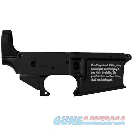 Stag Arms AR-15 Stripped Lower Receiver, 5.56 NATO, 2nd Amendment Special Edition  Guns > Rifles > Stag Arms > Lower Only