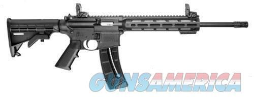 "S&W M&P 15-22 Sport Rifle, .22 LR, MLOK Rail, 16"", 25+1, 6-Pos Stock  Guns > Rifles > Smith & Wesson Rifles > M&P"