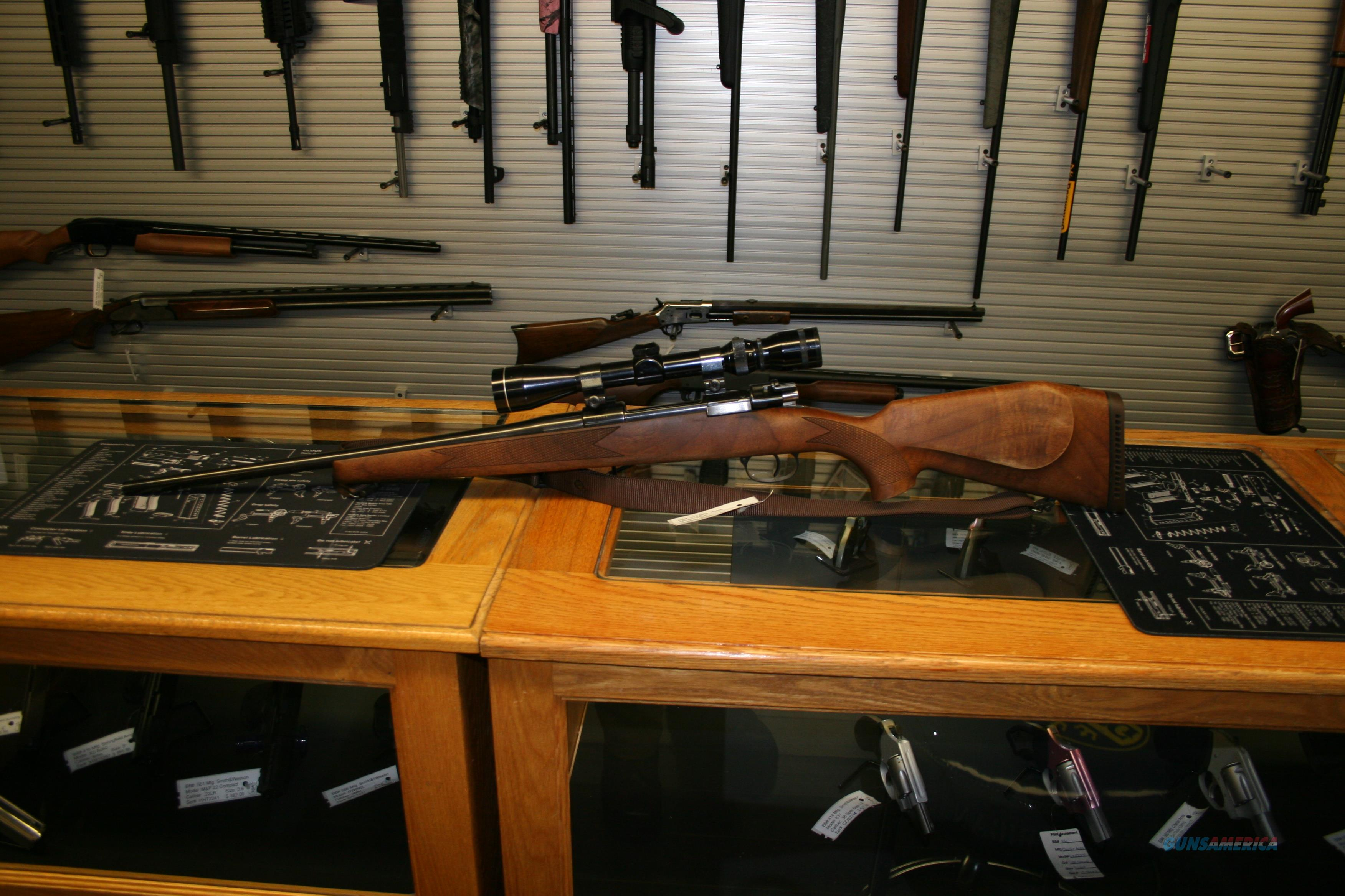 Voere Austria Model 2155 K-9 Mauser Action 30-06 24in Barrel, Wing Safety, Tasco 3x9x40 Scope  Guns > Rifles > Voere Rifles