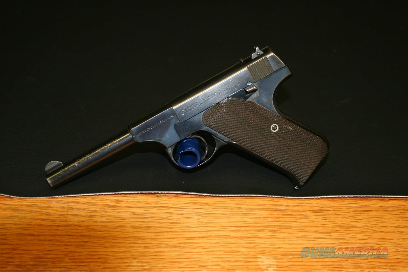 Colt Woodsman 1st. Series Target Model, 6in Barrel, 10Rd Original Magazine  Guns > Pistols > Colt Automatic Pistols (22 Cal.)