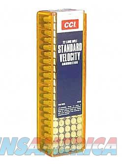 CCI 22 Long Rifle 40 Grain Round Nose AMMO AMMUNITION  Non-Guns > Ammunition