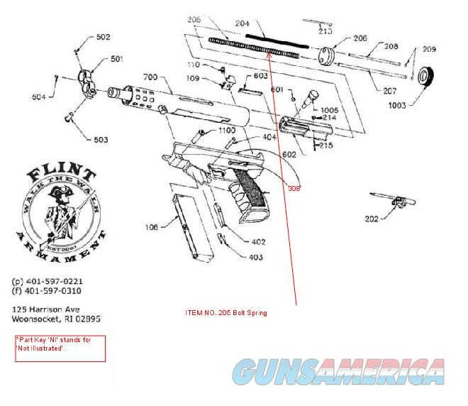 AA Arms Kimel AP9 Bolt Spring   Non-Guns > Gun Parts > Tactical Rails (Non-AR)