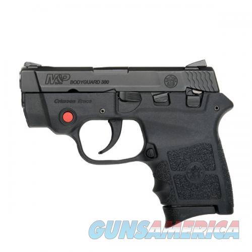 "S&W M&P Bodyguard Semi Auto Pistol .380 ACP 2.75"" Barrel 6 Rounds with Laser and Safety Black  Guns > Pistols > Smith & Wesson Pistols - Autos > Polymer Frame"