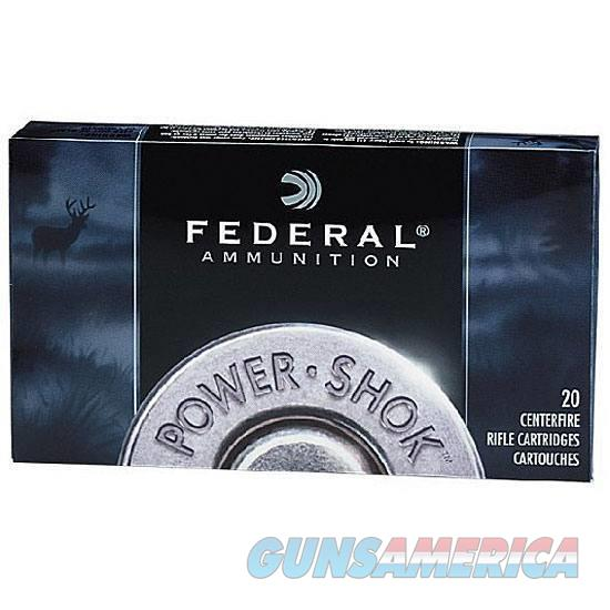 .270 Win Federal PowerShok 130 Grain SP Bullet 3060 fps 20 Rounds  Non-Guns > Ammunition