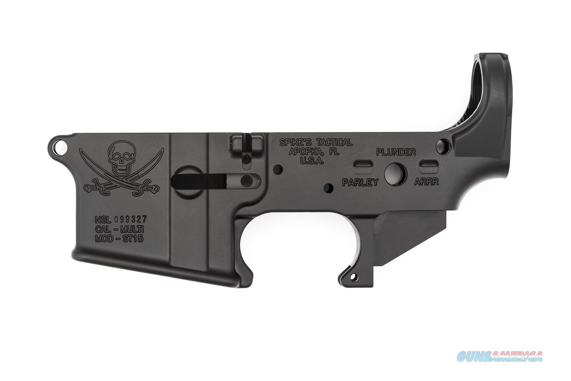 Spike's Tactical Calico Jack Stripped Lower Receiver.  Guns > Pistols > Spikes Tactical Pistols