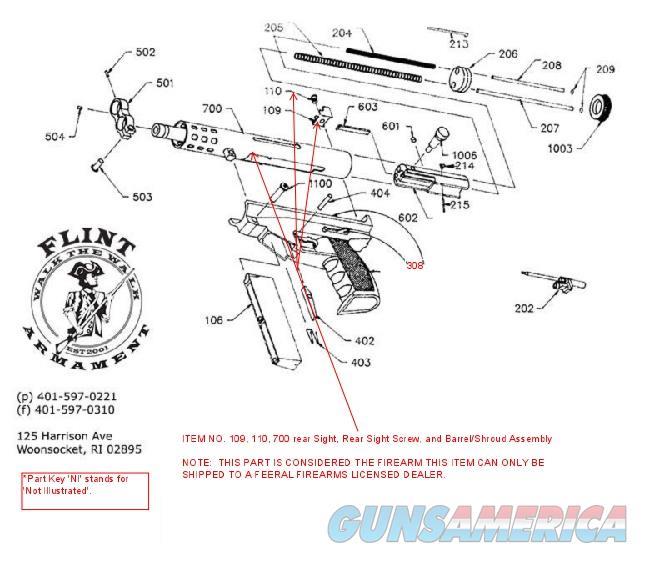 """AA Arms Kimel AP9 5"""" Barrel & Shroud Assembly   Guns > Pistols > A Misc Pistols"""