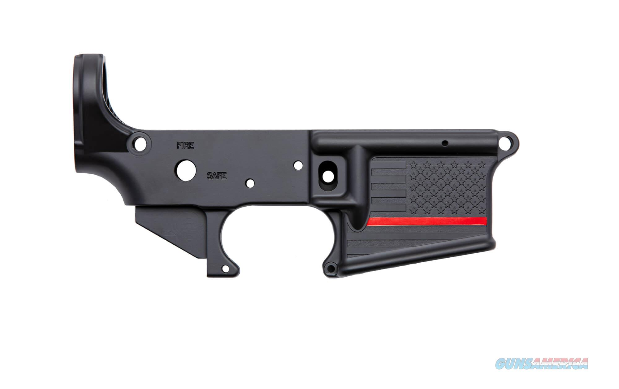 Spike's Tactical Thin Red Line Lower Receiver  Guns > Pistols > Spikes Tactical Pistols