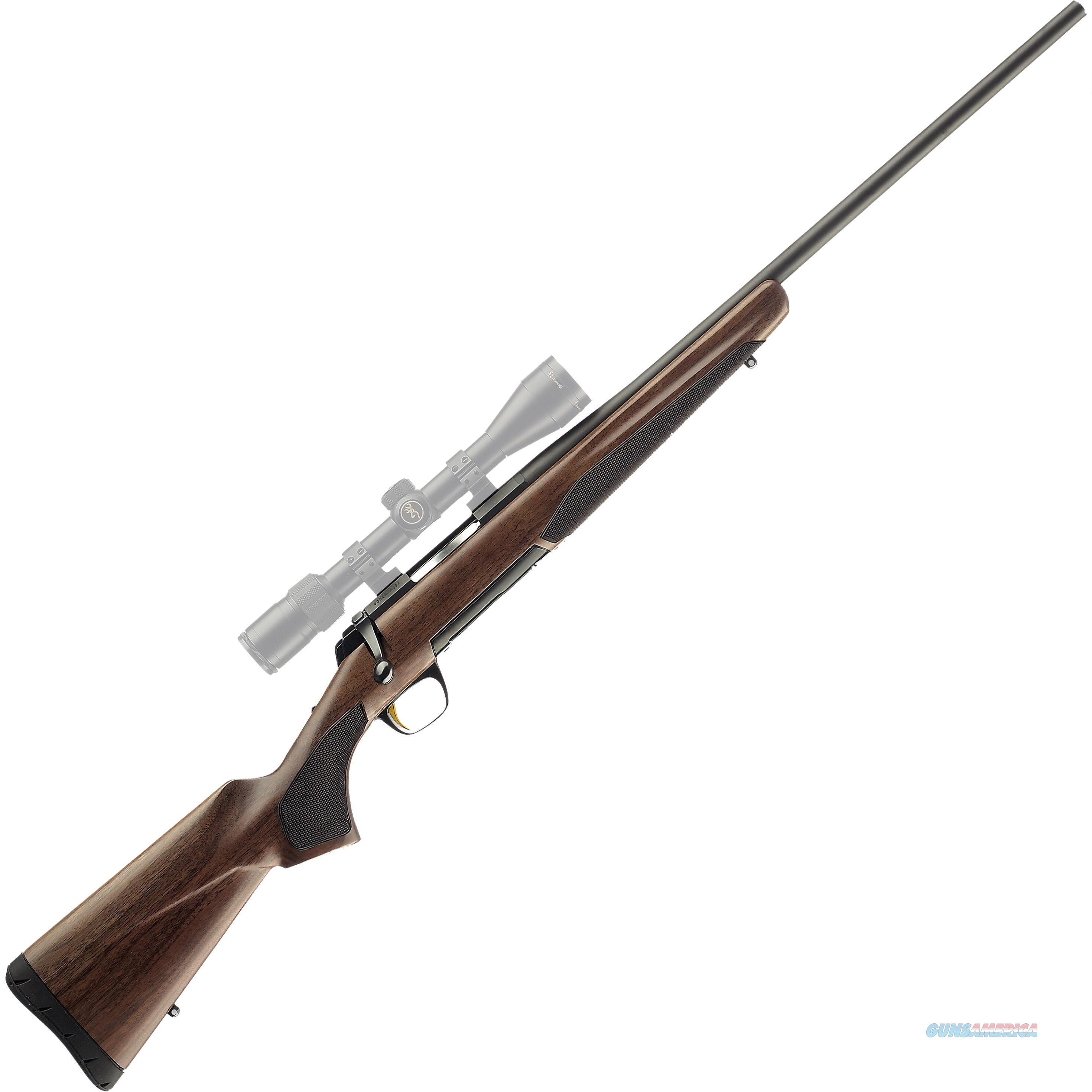 "Browning XBolt Hunter Bolt Action Rifle 3006 Springfield 22"" Barrel Blued 4 Rounds Walnut Stock Matte Blued Finish   Guns > Rifles > Browning Rifles > Bolt Action > Hunting > Blue"