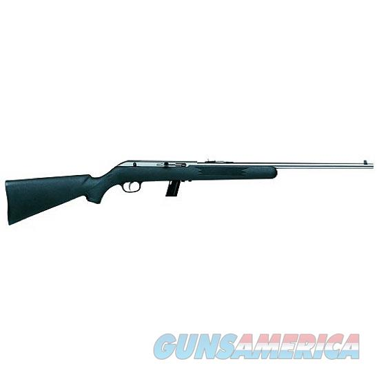 "Savage Model 64 FSS SemiAutomatic Rifle .22 LR, 20.5"" Barrel 10 Rounds Black Synthetic Stock High Luster Stainless Finish  Guns > Rifles > Savage Rifles > Other"