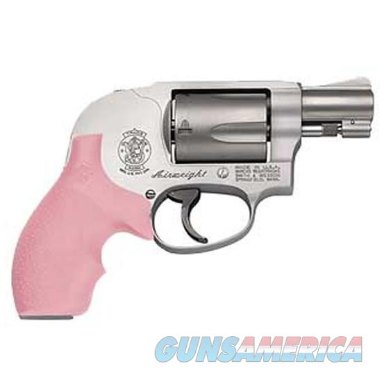 S&W Model 638 Bodyguard Airweight Revolver .38 Special +P JFrame Stainless Steel Pink Grips  Guns > Pistols > Smith & Wesson Revolvers > Pocket Pistols
