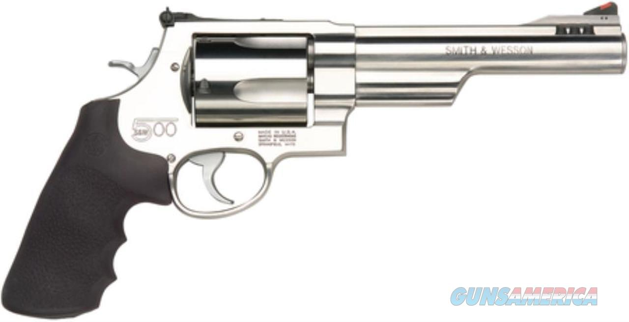 "Smith & Wesson 500 SW 6.5"" Ported Half Lug Barrel, SS Frame, 5 Rd Shipping included  Guns > Pistols > Smith & Wesson Revolvers > Full Frame Revolver"