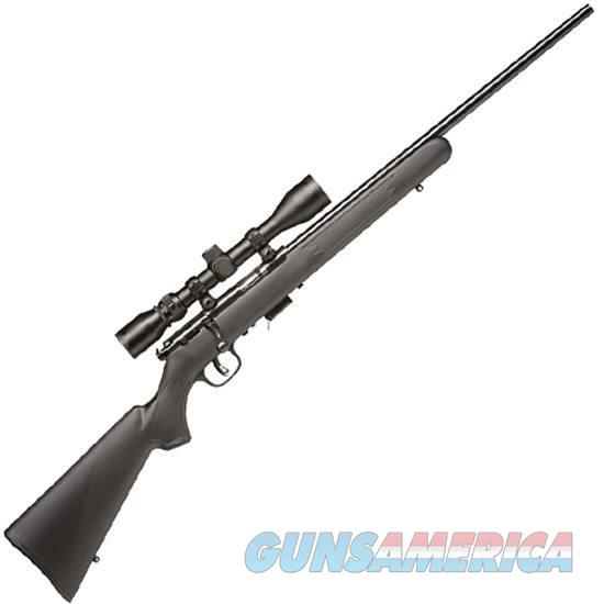 "Savage Model 93 FXP Bolt Action Rifle .22 WMR 21"" Barrel 5 Rounds Black Synthetic Stock Bushell 39x40 Scope  Guns > Rifles > Savage Rifles > Rimfire"