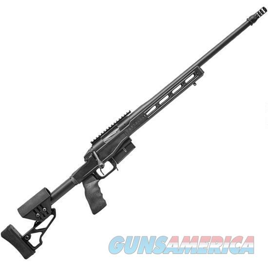 "Bergara Premier LRP Bolt Action Rifle 6.5 Creedmoor 22"" Barrel 5 Rounds XLR Element Chassis Stock 20 MOA Rail Matte Black  Guns > Rifles > Bergara Rifles"