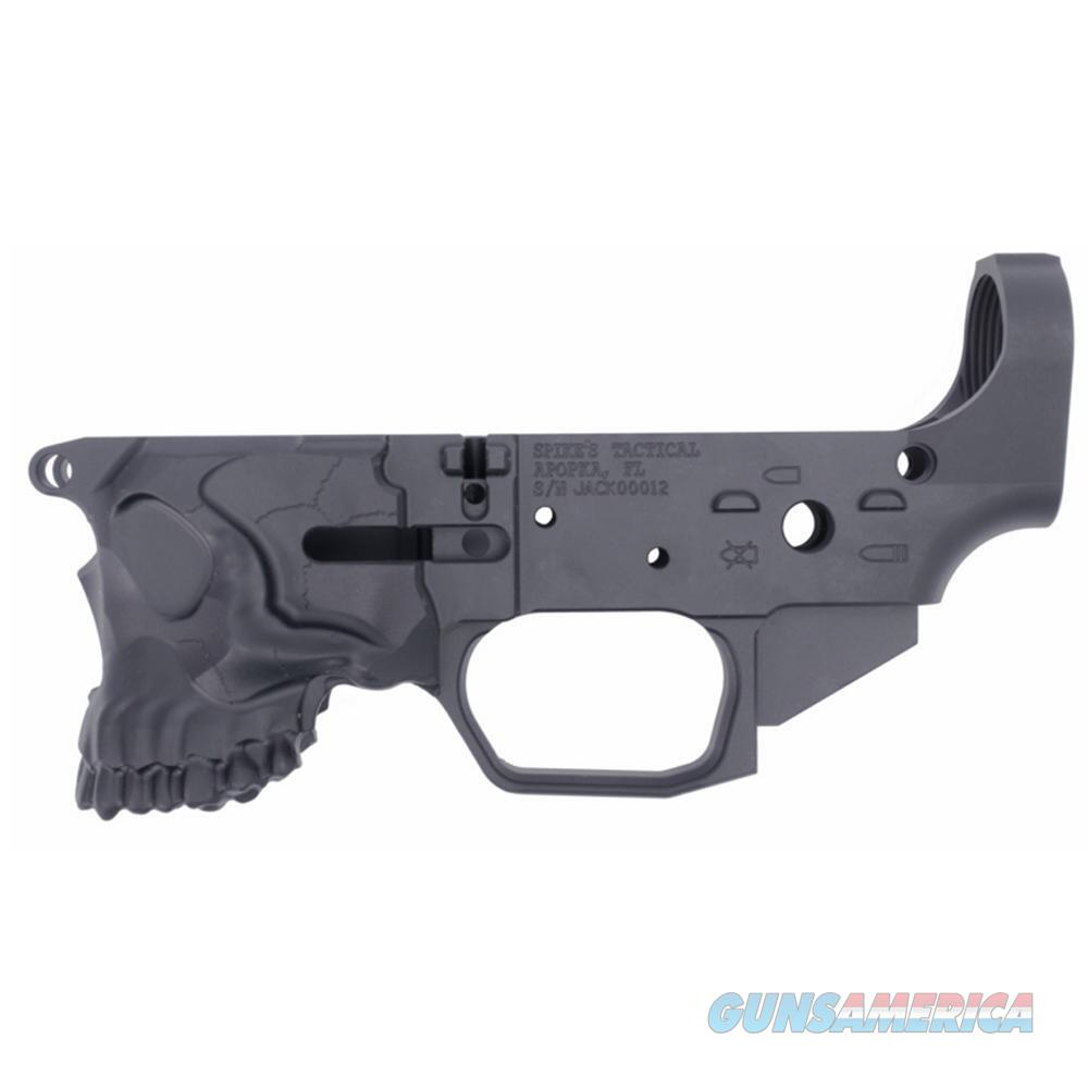 Spike's Tactical The Jack AR-15 Stripped Billet Lower Receiver, Multi-Caliber, Black  Guns > Rifles > Spikes Tactical Rifles