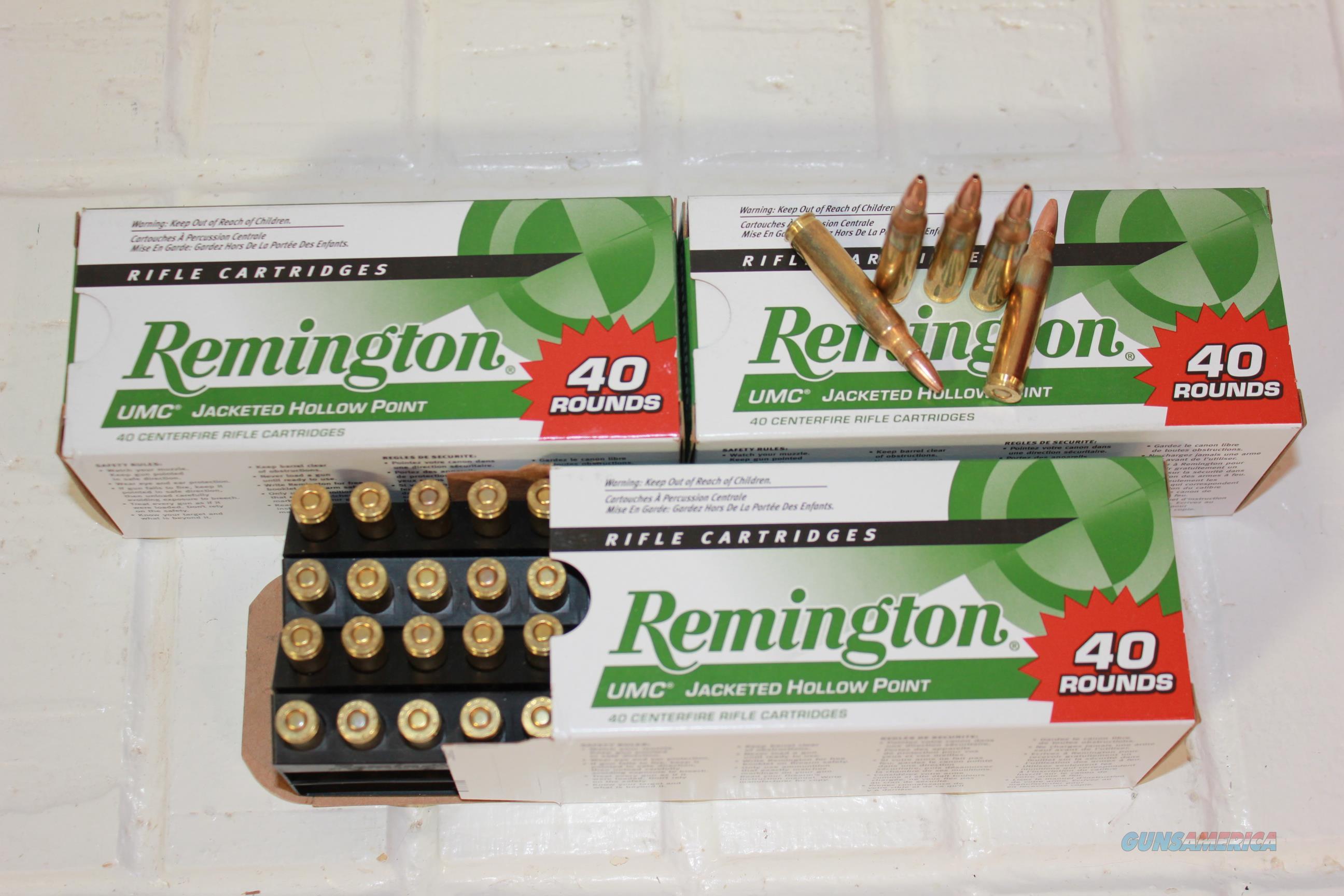 .223 UMC 45gr H.P 120Rnds 223 Rem 5.56 5.56mm  Non-Guns > Ammunition