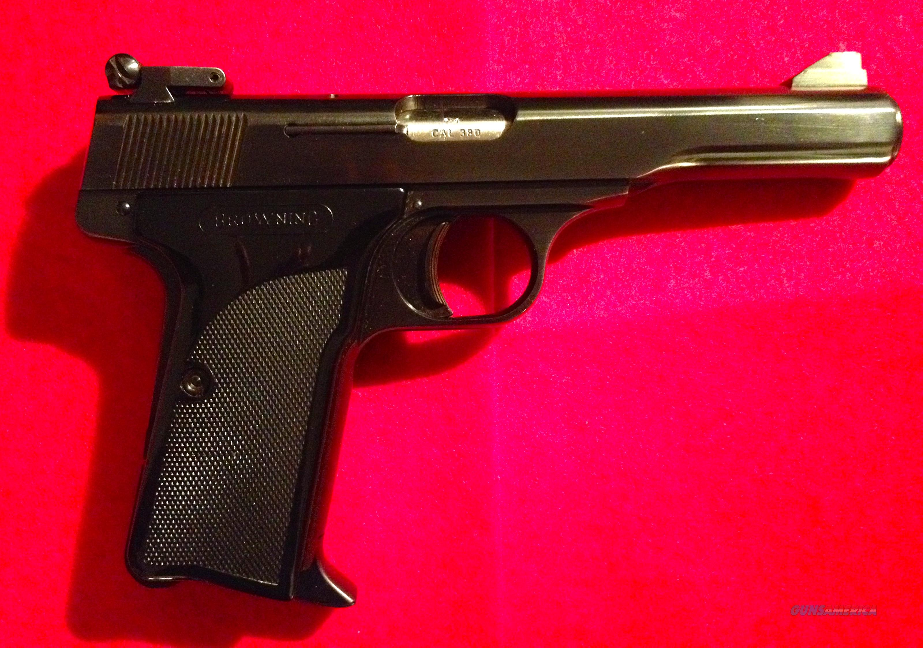 Browning FN  Model 10/71  Cal 380  Guns > Pistols > Browning Pistols > Other Autos