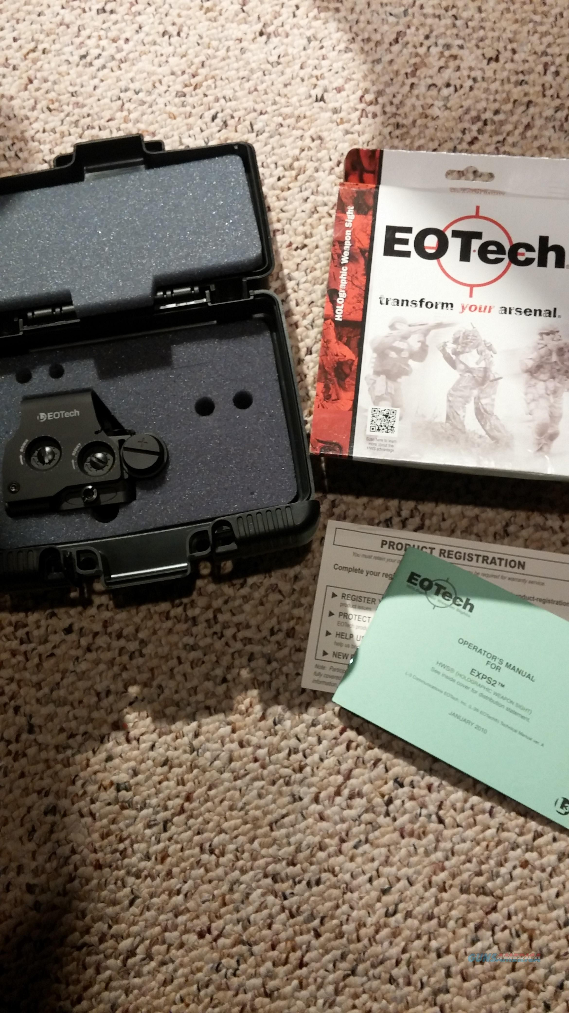 EOTech EXPS2 Holographic Sight  Non-Guns > Scopes/Mounts/Rings & Optics > Tactical Scopes > Red Dot