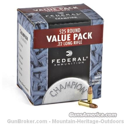 1500 Rounds Federal 745 .22LR 22 LR HP CCI Bulk   Non-Guns > Ammunition