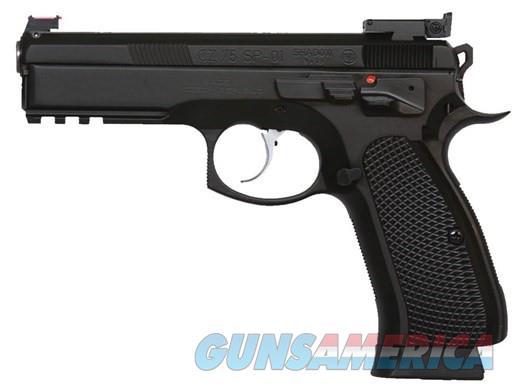 CZ-USA CZ 75 SP-01 SHADOW II CUSTOM 9MM  Guns > Pistols > CZ Pistols