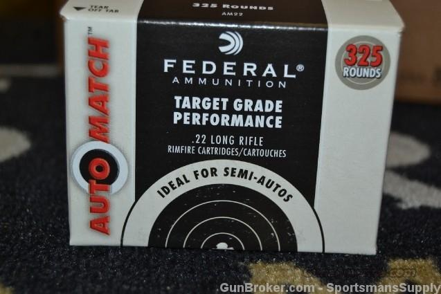 3250 Rnds Federal 22LR 40 Gr Solid Automatch   Non-Guns > Ammunition