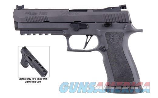 Sig P320 X-FIVE LEGION 9MM,17+1Fiber OpticLightni,  Guns > Pistols > Sig - Sauer/Sigarms Pistols > P320