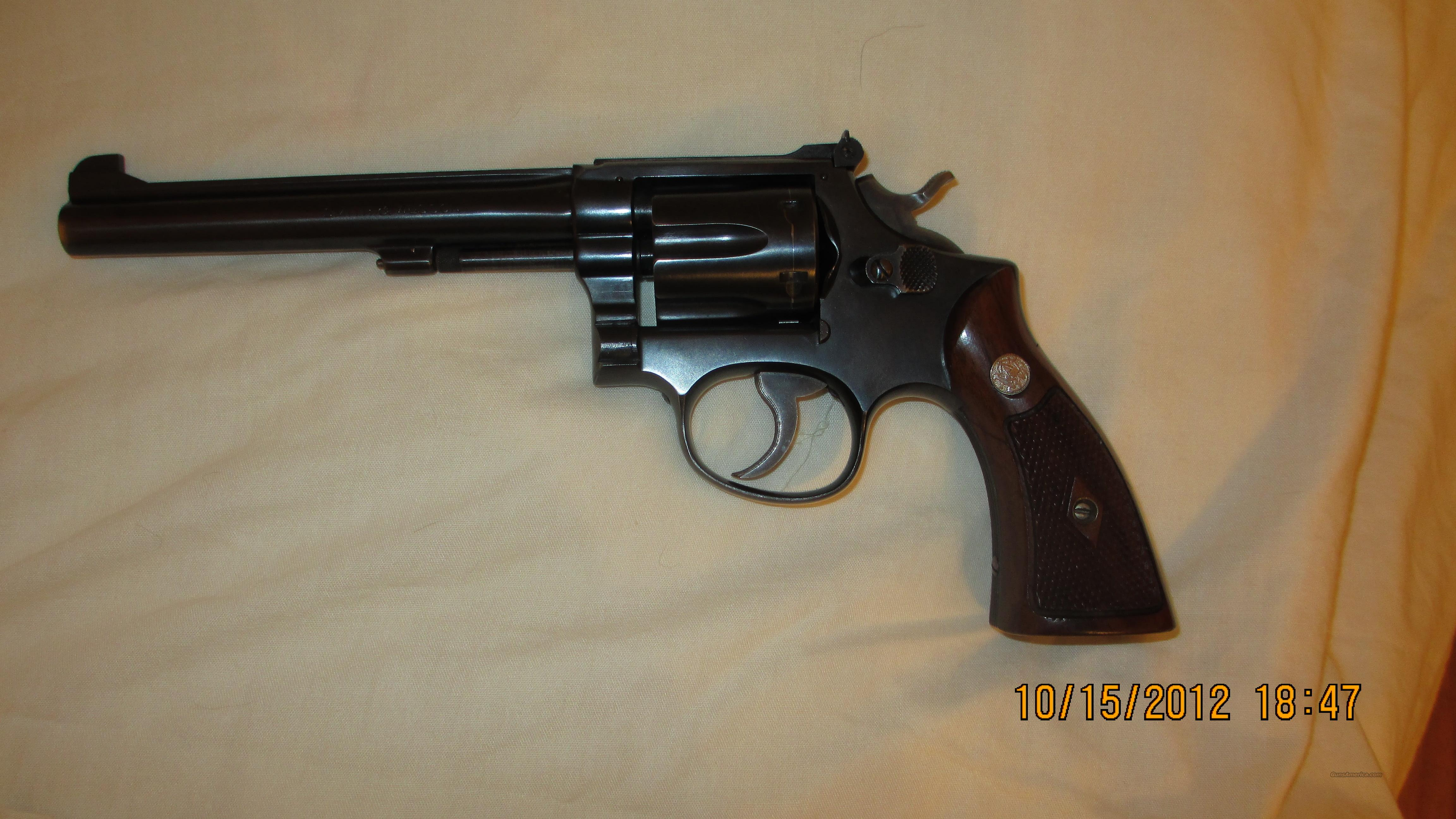 K-22 SMITH AND WESSON  Guns > Pistols > Smith & Wesson Revolvers > Full Frame Revolver