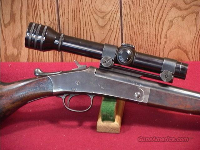 120S H&R SIGLE SHOT 38SP  Guns > Rifles > Harrington & Richardson Rifles