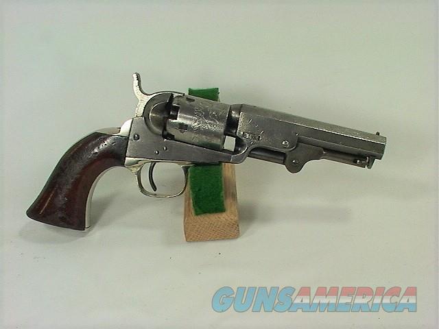 """994 COLT 1849 POCKET 4""""  Guns > Pistols > Colt Percussion Revolver - Pre-1899"""