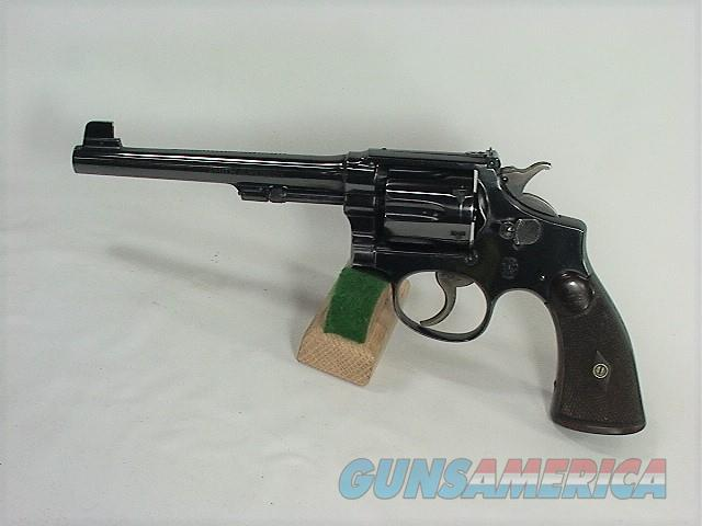 60X S&W K-38 M&P MODEL OF 1905 4TH CHANGE 38 SPECIAL TARGET  Guns > Pistols > Smith & Wesson Revolvers > Med. Frame ( K/L )
