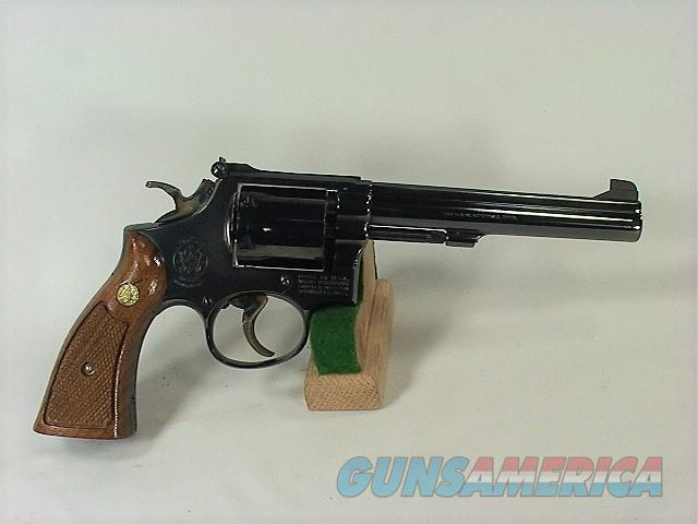 """D13W S&W 14-3 38SP 6"""", RARE SINGLE ACTION ONLY  Guns > Pistols > Smith & Wesson Revolvers > Med. Frame ( K/L )"""
