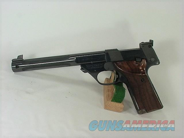 T6X HIGH STANDARD SUPERMATIC CITATION MODEL 106 MILITARY  Guns > Pistols > High Standard Pistols