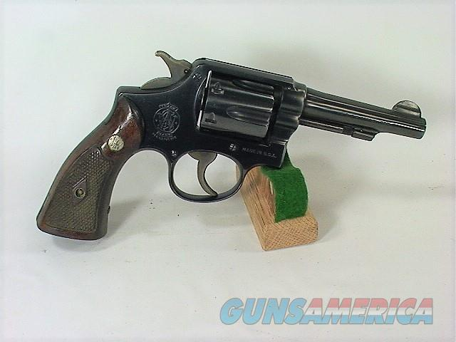 "32x S&W M&P POST WAR (PRE MODEL 10) 38 SP 4""  Guns > Pistols > Smith & Wesson Revolvers > Med. Frame ( K/L )"