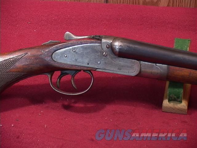 9T CRESCENT ARMS SIDE LOCK SXS 20GA  Guns > Shotguns > C Misc Shotguns