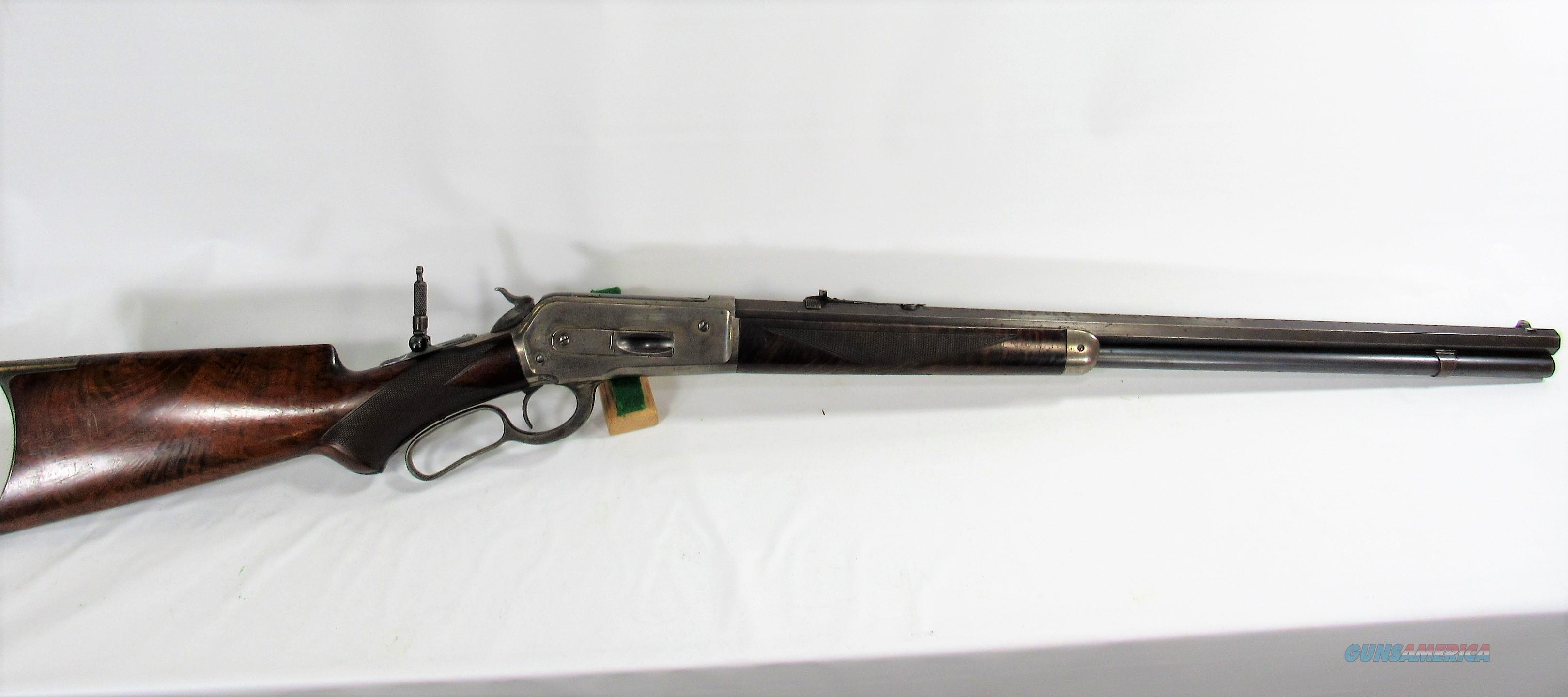 A4 WINCHESTER 1886 DELUXE 40-82  Guns > Rifles > Winchester Rifles - Pre-1899 Lever