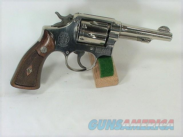 "71X S&W M&P (PRE MODEL 10) 38 SP 4""  Guns > Pistols > Smith & Wesson Revolvers > Med. Frame ( K/L )"