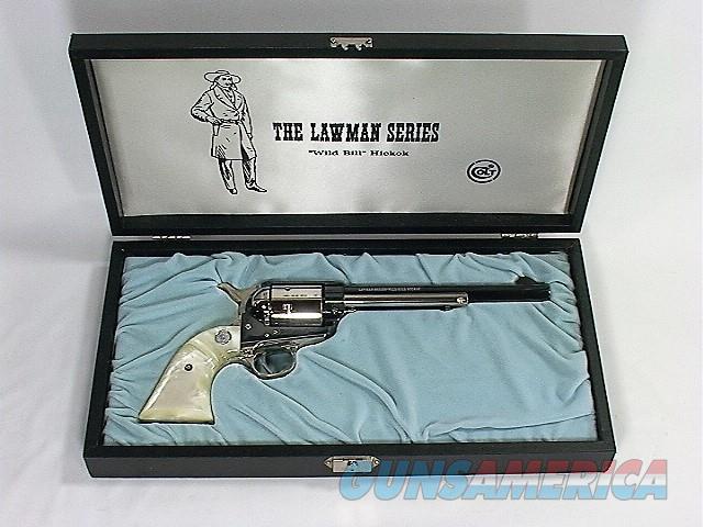 "D50X COLT SAA 45 LC 7 ½"" LAWMAN SERIES WILD BILL HICKOK  Guns > Pistols > Colt Single Action Revolvers - 3rd Gen."
