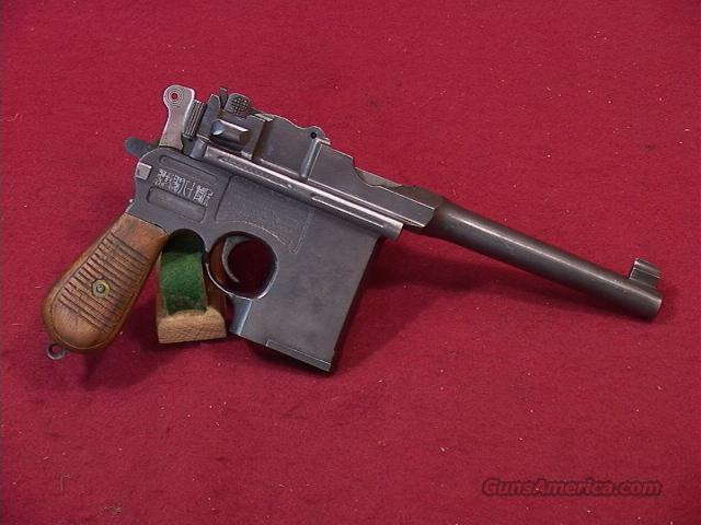 238S CHINESE TYPE 17 BROOMHANDLE (COPY OF A C96 MAUSER) 45ACP  Guns > Pistols > Military Misc. Pistols Non-US