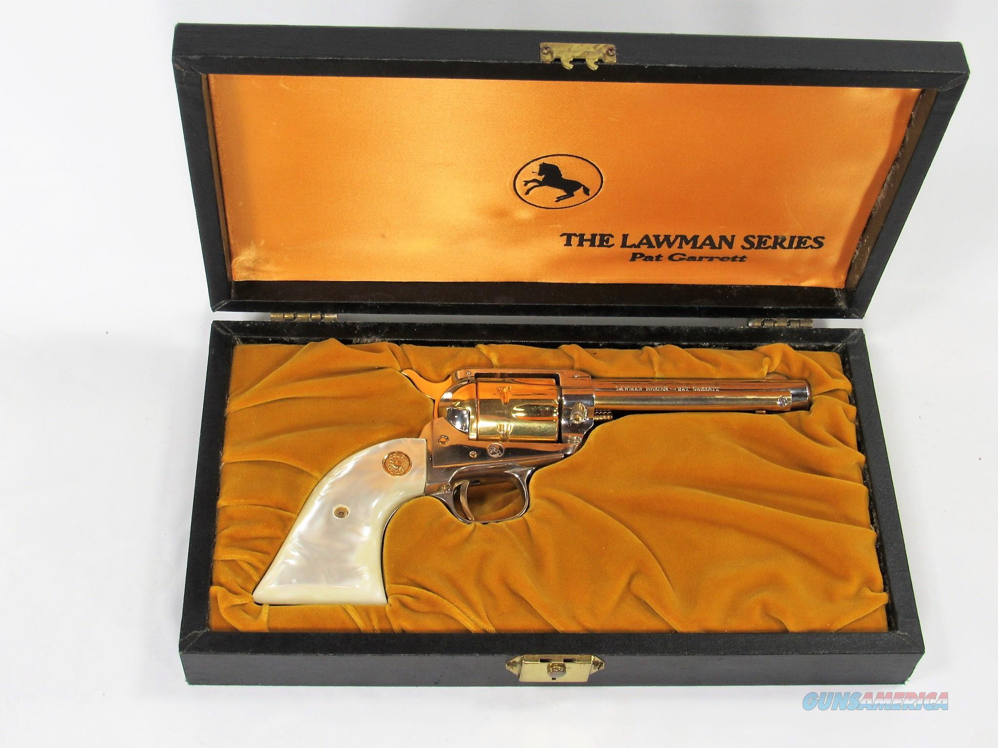 125Y COLT FRONTIER SCOUT 22 LAWMAN SERIES PAT GARRETT  Guns > Pistols > Colt Single Action Revolvers - Modern (22 Cal.)